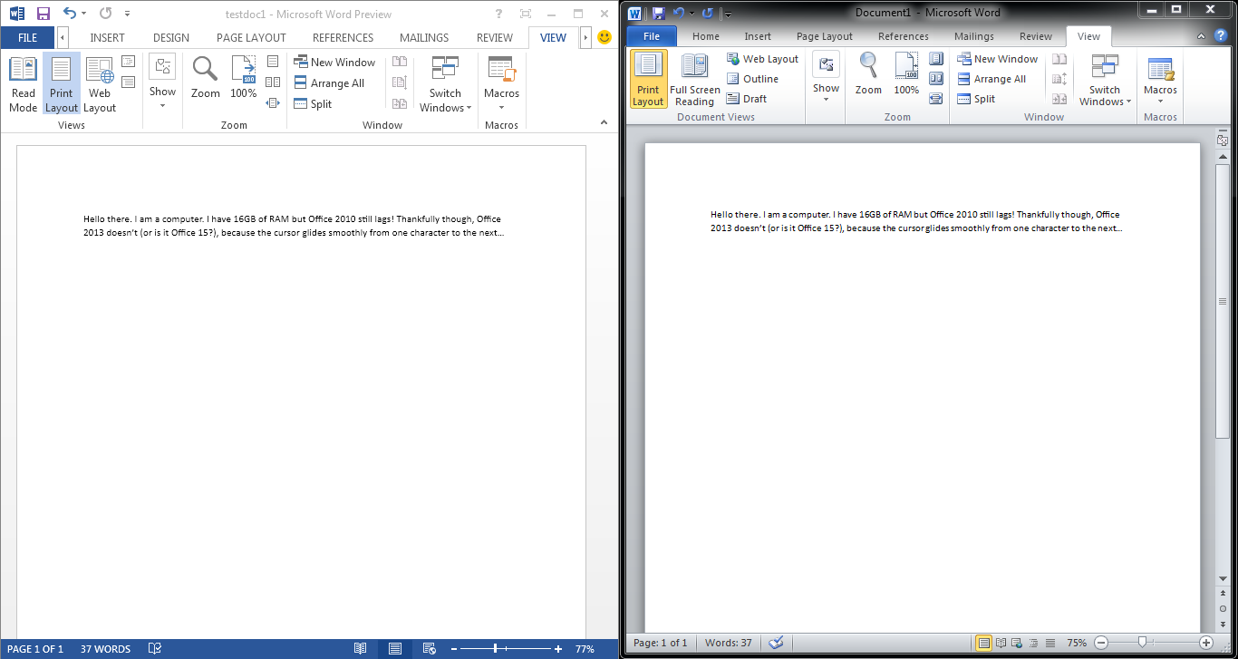 how to move the side in microsoft word
