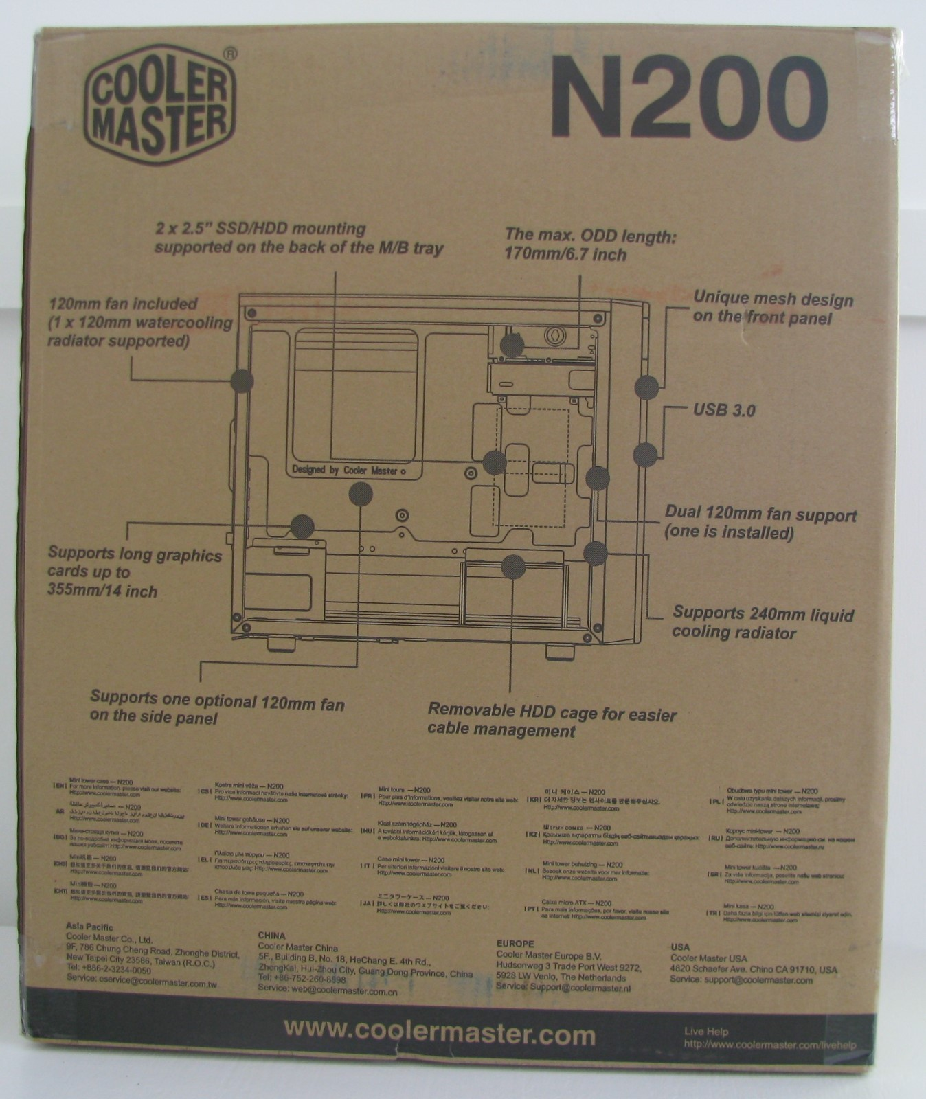 Cooler Master N200 Case Review Wiring Diagram