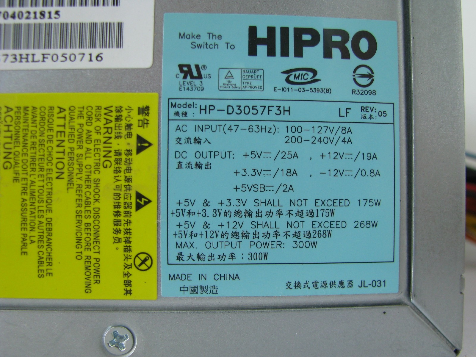 d3057f3h label hipro hp d3057f3h review v2 0 Basic Electrical Wiring Diagrams at suagrazia.org